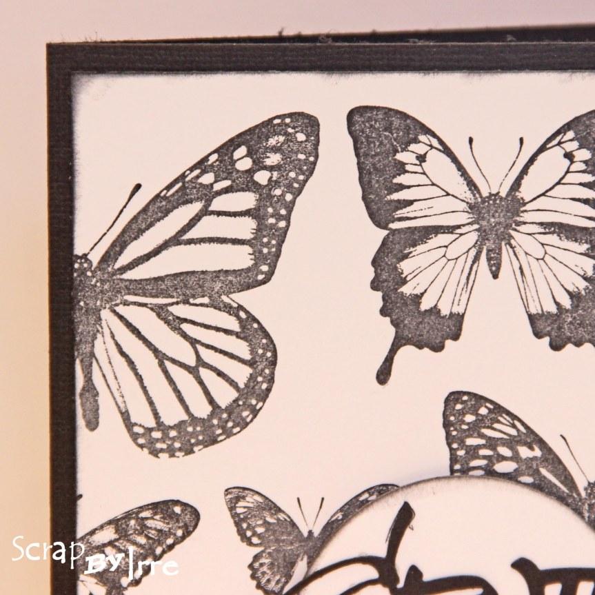 Birthday card with butterflies from DarkroomDoor