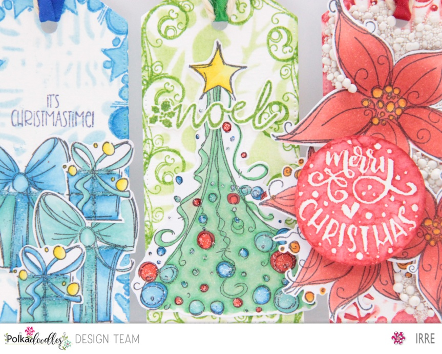 Three Christmas Tags